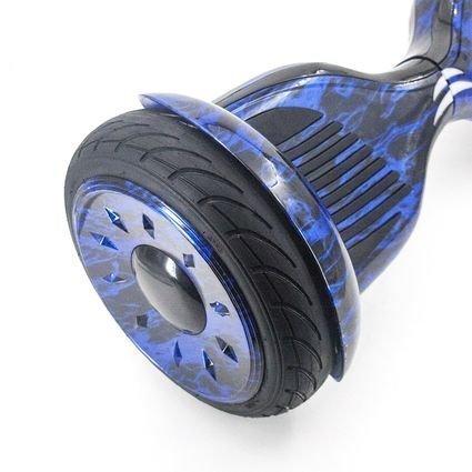 Гироскутер Smart Balance Синий Огонь 10,5 APP самобалансир (Samsung)