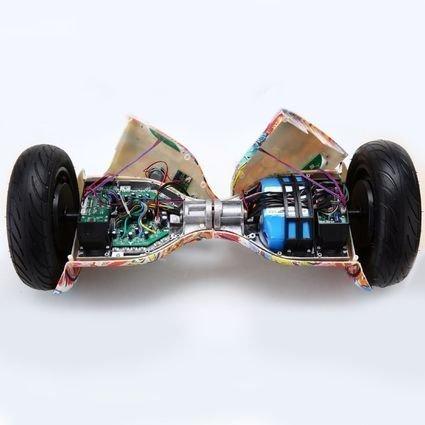 Гироскутер Smart Balance Фиолетовый Космос 10,5 APP самобалансир (Samsung)